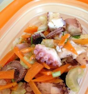 """Insalata di Polipo, uno dei piatti più richiesti alla """"Sagra te lu Purpu"""""""